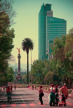 Paseo de la Reforma, Ciudad de México.