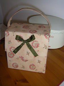 Le tuto pour la boite couture 1er partie - Le blog de Brode and co