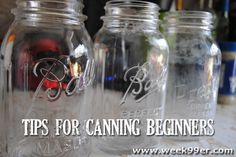 Tips for Canning Beginners - What you need to know!