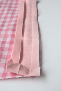 How to sew on bias tape