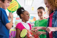 """Can your students guess how many """"READioactive bookworms"""" are in the jar? If they can, reward them with a prize from the fair!    Check out your Book Fair Chairperson Toolkit for more tips and tricks."""