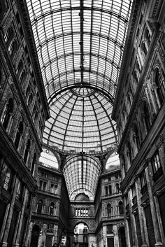 Galleria Umberto. Naples, Italy- our old hometown