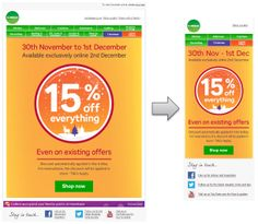 Responsive Email Design from Homebase