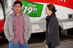 Still of Julianne Moore and Steve Carell in Loco y estúpido amor