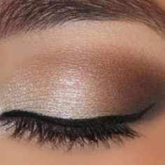 Love this for wedding eye make up