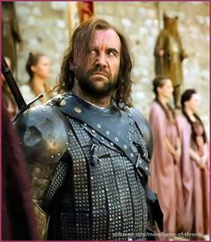 Rory McCann as Sandor Clegane in Game of Thrones. I'm seriously 'in lust' with Rory McCann!