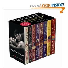 All the Sookie Stackhouse books.True Blood!
