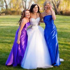 love the dress bridesmaids, wedding dressses, idea, purple, bridesmaid colors, the dress, blue weddings, blue bridesmaid dresses, blues