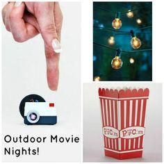 8 Outdoor Movie Night Party Essentials