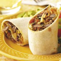 Calypso Burritos   Just made this for dinner.  Super yummy and healthy.
