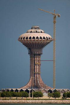 Water Tower by nick_hardcastle, via Flickr
