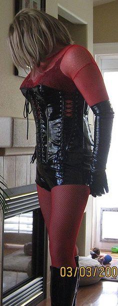 Me bitch societi, hot cdtvts, cdtvts sissi, red black, crazi bitch