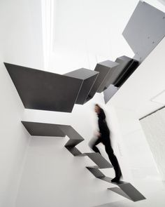 Loft Staircase by Schlosser + Partner [via Fancy] #stairs