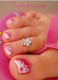 Toe nail designs.. My toenails are always  fabulous! My feet always have to look pretty :)