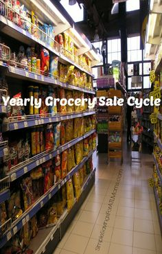 learn when grocery items are on sale in the market. #grocery, #grocery store, #sales, #perishable foods, #market, #supermarket