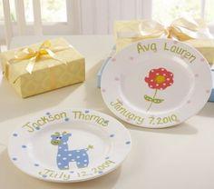 personalized ceramic plates... PB Kids
