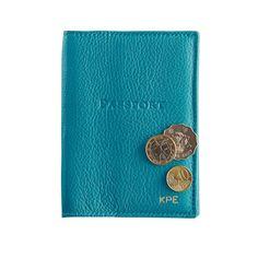 Leather Passport Cas