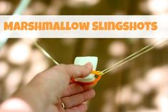 Marshmallow Slingshots