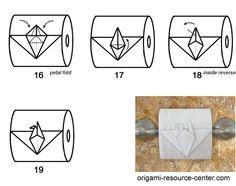 Toilet Paper Origami Bird