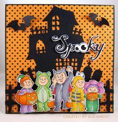 Sue's Stamping Stuff: WOYW?W #229 Art Impressions Halloween