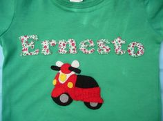 Camiseta Motorizada!! / Cosetes de Marta - Artesanio