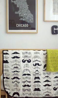 Cute boy room!
