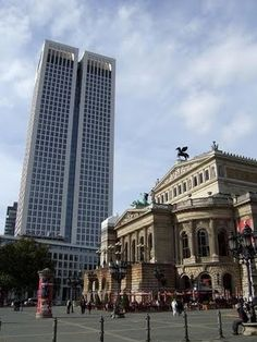 Art The Old Opera House in Frankfurt travel-and-places