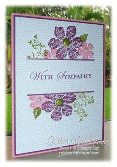 sympathy card robin, card idea, stamp sets, sympathy cards, color, mask techniqu, mask card, vintage vogue, craft rooms