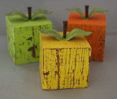 cute ... apples for autumn :)
