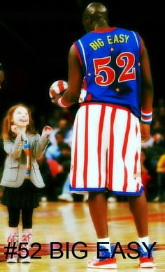 Get your #52 Big Easy Harlem Globetrotters jersey here and start playing like the big man himself!