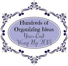 hundreds of organizing ideas, organizing