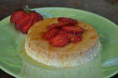 Healthy Recipe – Yogurt Vanilla Bean Flan