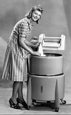 vintag, mother, wringer washer, childhood memori, back porches