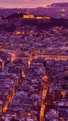 Athens Greece and Acropolis