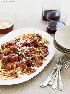 Sardinian Spaghetti Recipe : Food Network Kitchen : Food Network - FoodNetwork.com