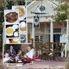 Liberty Tree Tavern is my favorite place to eat at Disney ;)