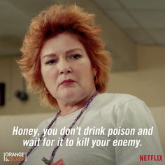 oitnb:  Is there a plan b? #OITNB