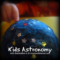 Do your kids light science?  Check out this creative ideas for teaching dids Astronomy with BabbaBox at B-InspiredMama.com