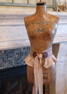 ❥ dress form, mannequin