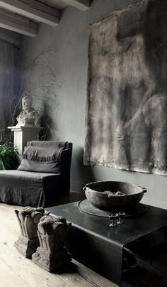 ♅Dark♅Decor♅Interior♅