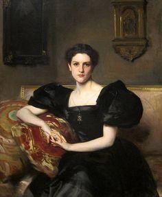Portrait of Elizabeth Astor Winthrop Chanler. John Singer Sargent 1893