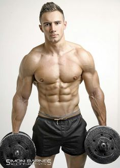 Speechless....  TRISTAN EDWARDS male fitness model © SIMON BARNES ► hotsnapz.blogspot.com