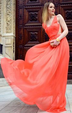 Coral Flow ♥✤ | Keep the Glamour | BeStayBeautiful