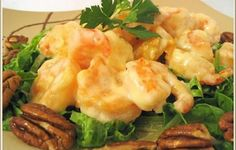 Honey Glazed Walnut Shrimp - My favorite!  Goes great with steamed rice.