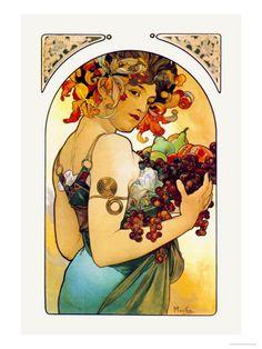 Alfons_Mucha---Fruit