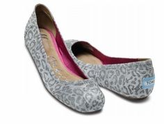 TOMS Giselle Grey Suede Flats