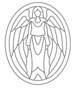 Free Printable Angel Patterns and Angel Symbols