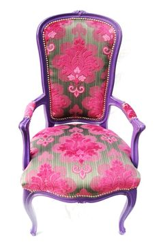 Re-upholstered chair from The Divine Chair
