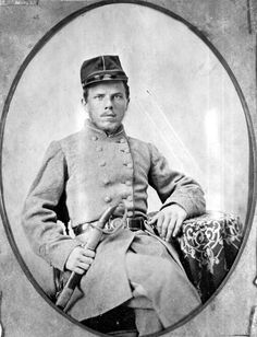 John A. Henderson [B Company, 7th Florida, Trigg's Brigade, Preston's Division, Buckner's Corps]. State Archives of Florida, Florida Memory.