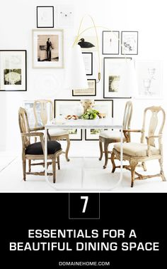 7 Essentials for an Instantly More Gorgeous Dining Space